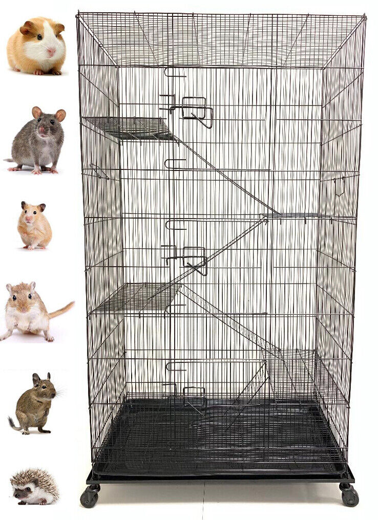 "55"" Large 5-Level Ferret Chinchilla Sugar Glider Rats Mice S"