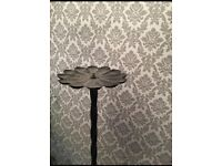 Cast iron candle holder 5.5 ft tall