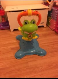 Vtech Bounce and Discover Frog.