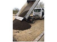 Aggregates delivered Yorkshire Top soil, Hardcore, Sand and bricks