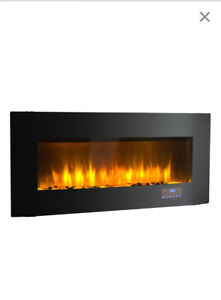 Soho Electric Wall Mount Fireplace