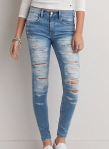 Cheap Ripped American Eagle Jeans