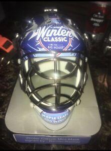 Autographed winter classic mini mask