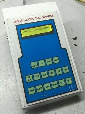 Digital Blood Cell Counter With 12 Operating Keys Instruction Manual