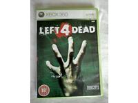 Xbox 360 left for dead game