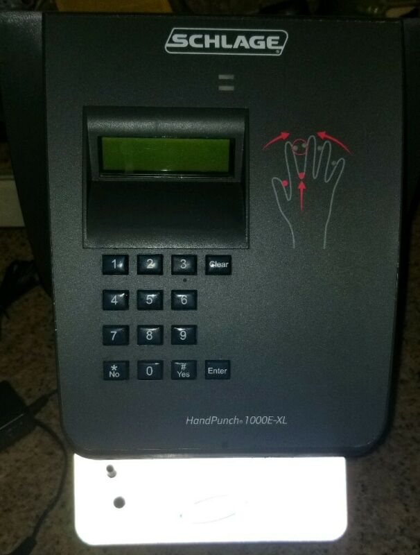 SCHLAGE HANDPUNCH 1000E-XL TIME CLOCK
