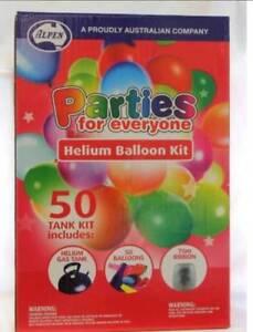 Helium balloon kit Queanbeyan Queanbeyan Area Preview
