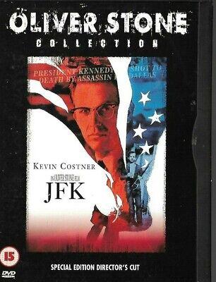 JFK: Kevin Costner, Sally Kirkland, John Candy, (DVD, 2005, 2-Disc Set)