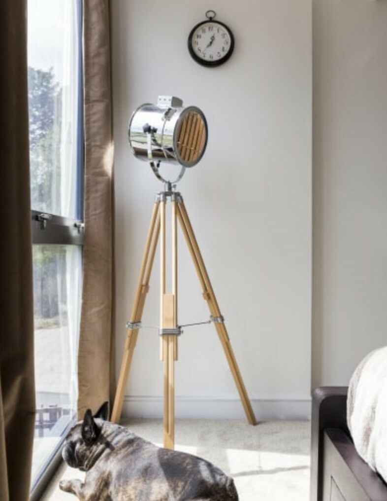 Alfred Tripod Floor Lamp Cinematic Style | in West Hampstead, London ...