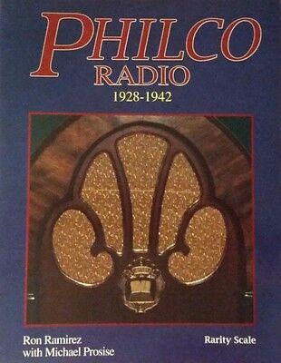 ANTIQUE PHILCO RADIO ID PRICE GUIDE COLLECTOR BOOK 1928-1948