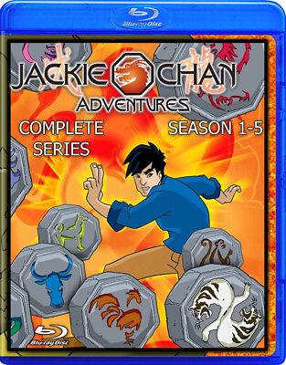 Jackie Chan Adventures   Blu Ray   Complete Seasons 1 5   Episodes 1 95 Cartoon