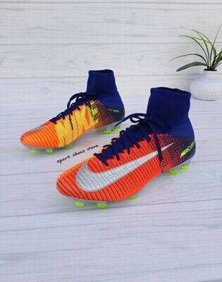 SIZE 10 MEN'S NIKE MERCURIAL SUPERFLY V DF FG 831940 408 SOCCER CLEATS