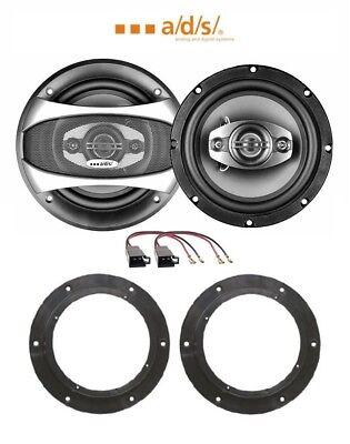 Anzeigen Kit 2 Lautsprecher für VW CADDY 03> mit Adaptern und unterstützt >