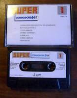 Super Commodore Numero1 - Cassetta Tape Giochi Programmi Retrocomputer -  - ebay.it
