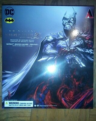 Dc Comics Variant Play Arts Kai Batman Rogues Gallery Two-Face Figure
