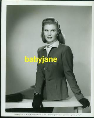 JOAN CAULFIELD VINTAGE 8X10 PHOTO 1946 FASHION UNIVERSAL PICTURES