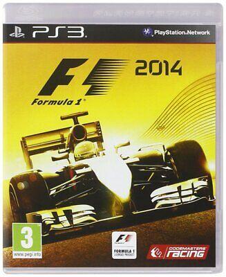 F1 2014 Formula 1 Playstation 3 PS3 **FREE UK POSTAGE**  segunda mano  Embacar hacia Spain