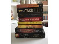 Crime Book Lot