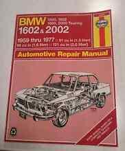 BMW 2002 restoration manual Haynes Macartney Sandy Bay Hobart City Preview