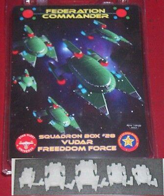 Federation Commander 4328 Squadron Box 28 Vudar Freedom Force Star Fleet