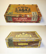 Roi Tan Cigar Box