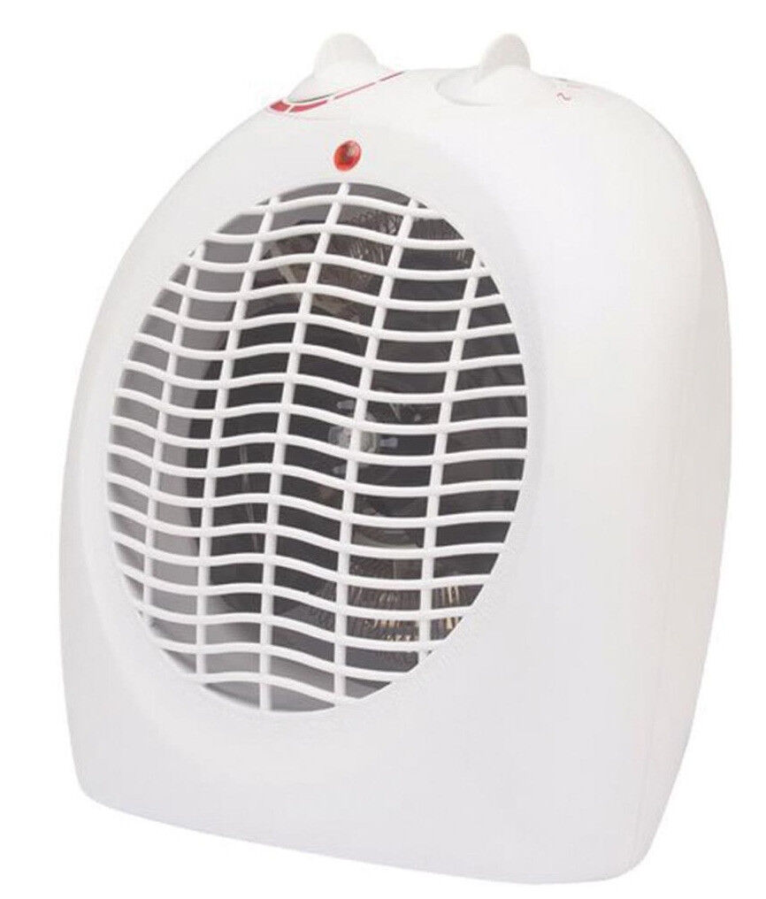 2KW Prem-I-Air EH 0152 Upright Fan Heater with Safety Tip Over.2 Heat Settings.