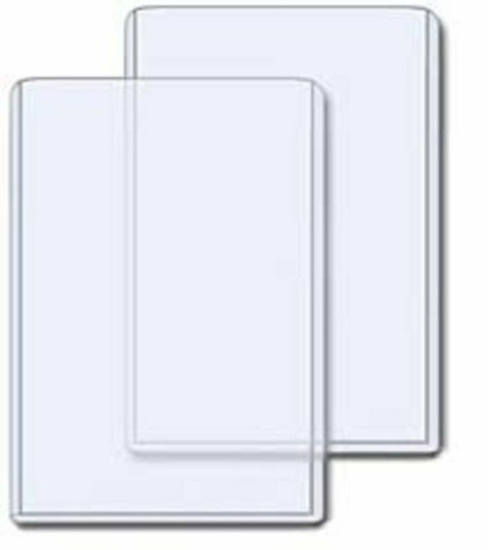 (300) 4X6 PHOTO PICTURE IMAGE or POSTCARD CLEAR PLASTIC HARD RIGID TOPLOADERS