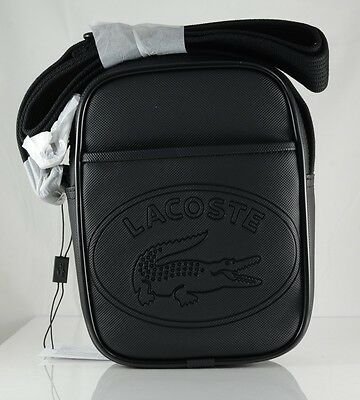 Lacoste New Classic Vertical Shoulder Bag Black 24