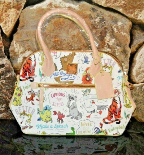 Disney Sidekicks Passholder Satchel Bag Purse **NWT** -Not Authentic