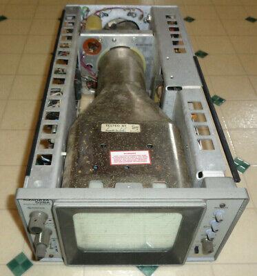 Tektronix 528a Waveform Monitor Oscilloscope For Partsrepair