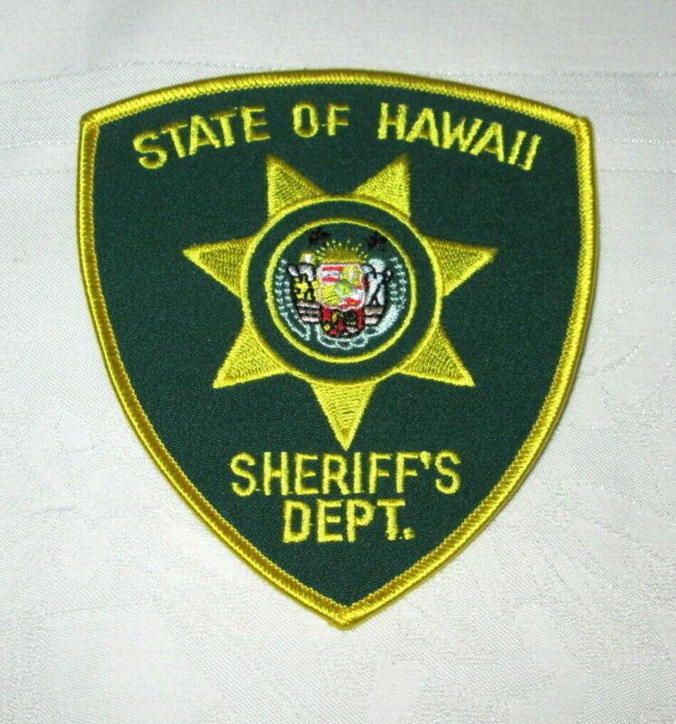 **Large HAWAII SHERIFF