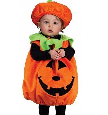 Pumpkin Jack Costume (Pumpkin Costume Kids Childs Girls Boys Toddler Baby Cutie Pie)