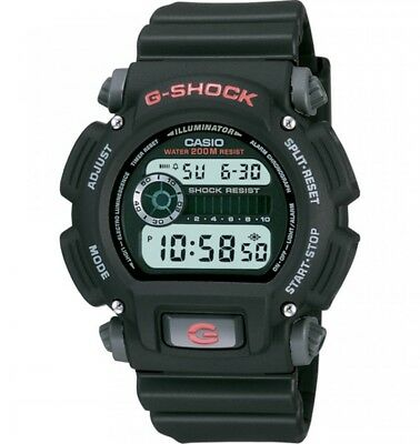 Casio G-Shock Men's Quartz Chronograph Black Resin Band 48.5mm Watch DW9052-1V