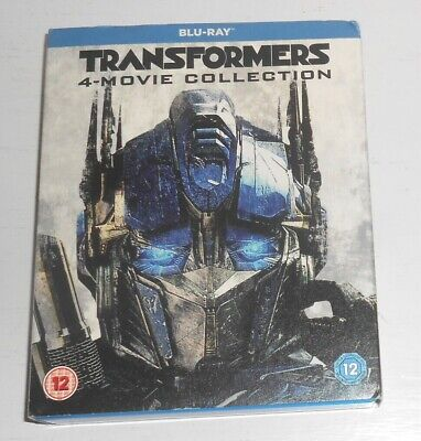 Transformers 4-Movie Collection Blu Ray