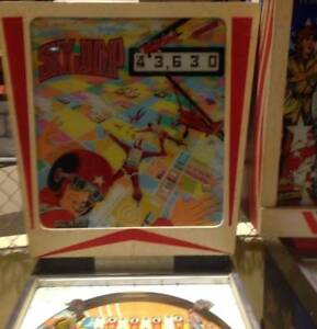 Pinball Sky Jump Gottlieb 1974 Classic Wedgehead Collectables