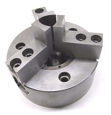 Howa 5 Three-jaw Cnc Lathe Power Chuck W Plain Back Mount - H01ma5