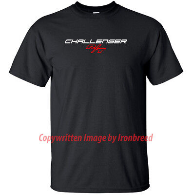 Dodge Challenger RT Lettering LOGO Demon Muscle Car (Logo Muscle Shirts)