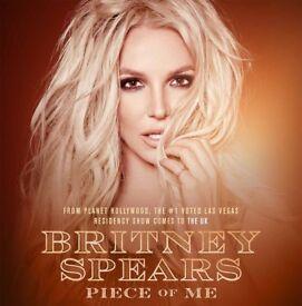 2x Britney tickets this Friday Birmingham