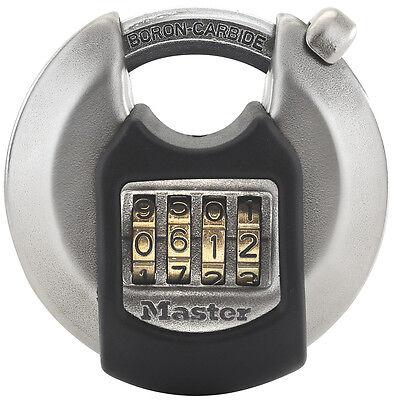 Master Lock Disk Vorhangschloss 70mm Zahlencode M40EURDNUM