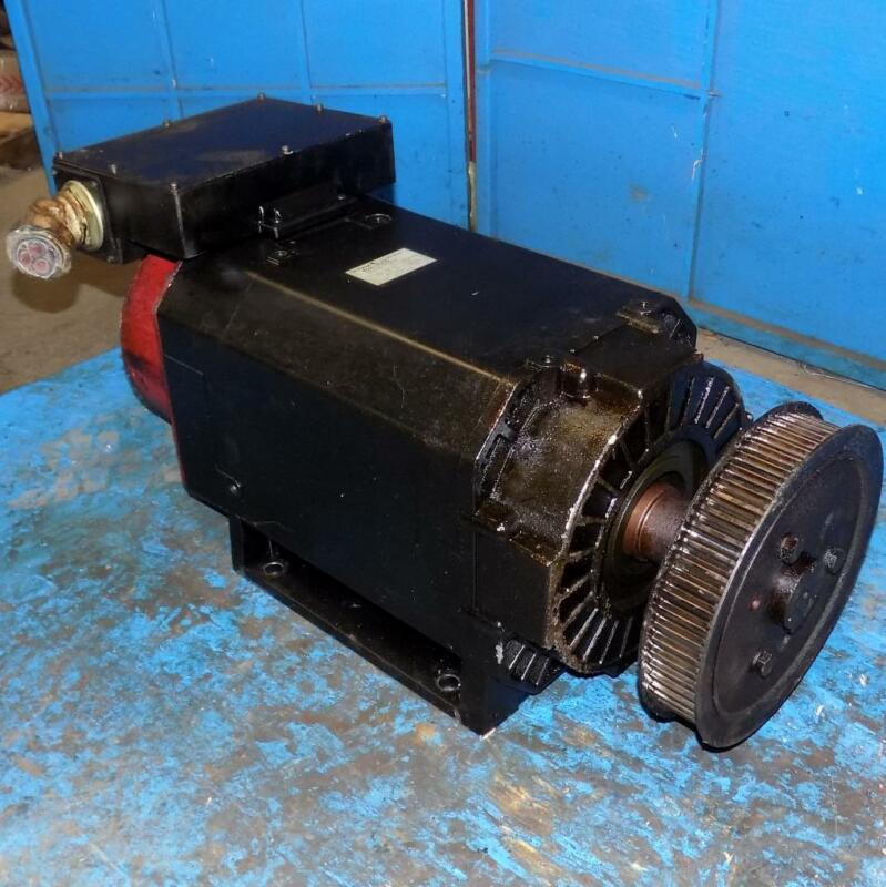 GE FANUC 37/45kW 40S/6000 AC SPINDLE MOTOR TYPE A06B-0761-B204#3000