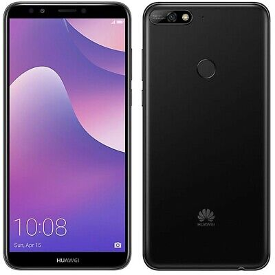 Huawei Y7 (2018) 6'' 4G Smartphone 16GB Unlocked Sim-Free - Black (No...