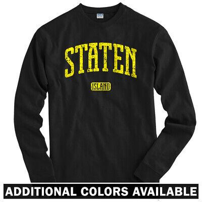 Staten Island NYC Long Sleeve T-shirt LS - New York City Hip-Hop - Men / Youth