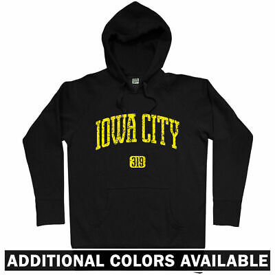 Iowa University Alumni (Iowa City 319 Hoodie - IA University Hawkeyes Johnson Football Alumni  Men S-3XL)