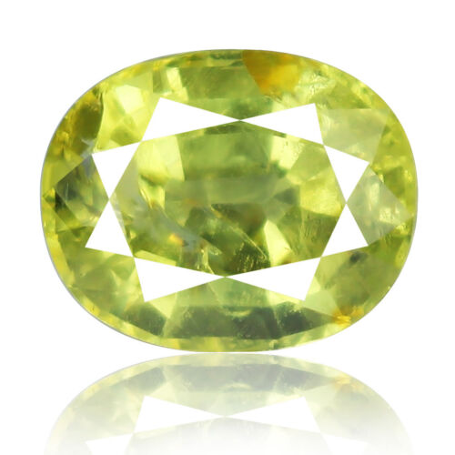 Tsavorite Family Garnet 10.48ct yellowish green color 100% natural earth mined