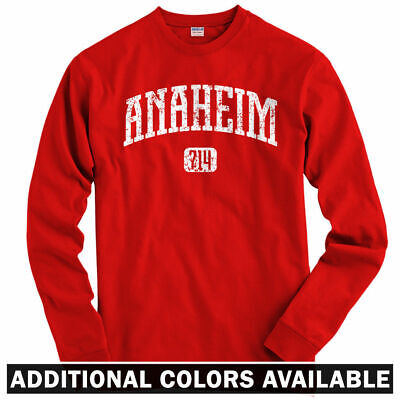 Angel Youth T-shirt (Anaheim 714 Long Sleeve T-shirt LS - Angels Ambassadors California - Men / Youth)
