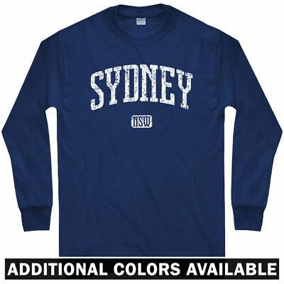 Sydney Long Sleeve T-shirt - Australia Aussie New South Wales - LS - Men / Youth