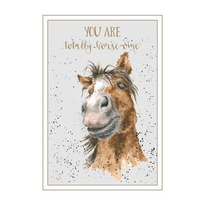001 Greeting Card - Wrendale Designs Greeting Card - HORSE-OME - WD-C-AWW001