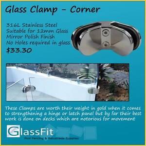90 Degree Corner Glass Clamp Yatala Gold Coast North Preview