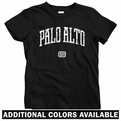 Palo Alto 650 California Kids T-shirt - Baby Toddler Youth Tee - Silicon (Palo Alto Kids)
