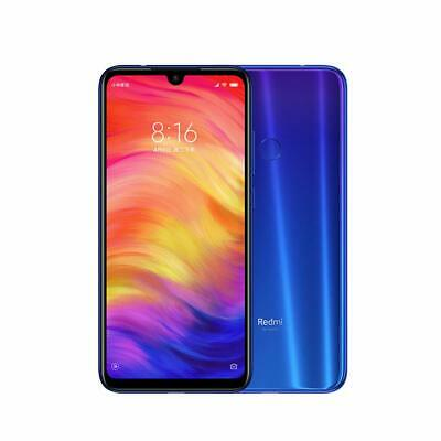 XIAOMI REDMI NOTE 7 4GB RAM 64GB ROM BLU SNAPDRAGON 660 48MP GLOBAL BANDA 20
